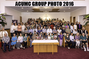 ACUMC Group Photo 2016